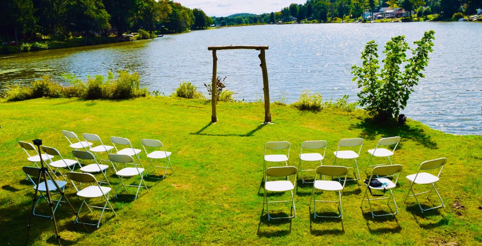 Wedding Butterfly Cottage at the Lake