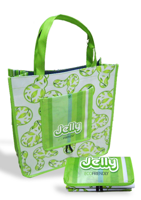Sacola Dobrável Jelly