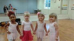 ballerinas ready for recital