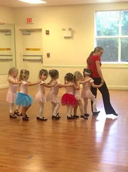 you ballet tap dance class