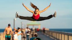 Dancer Flying high