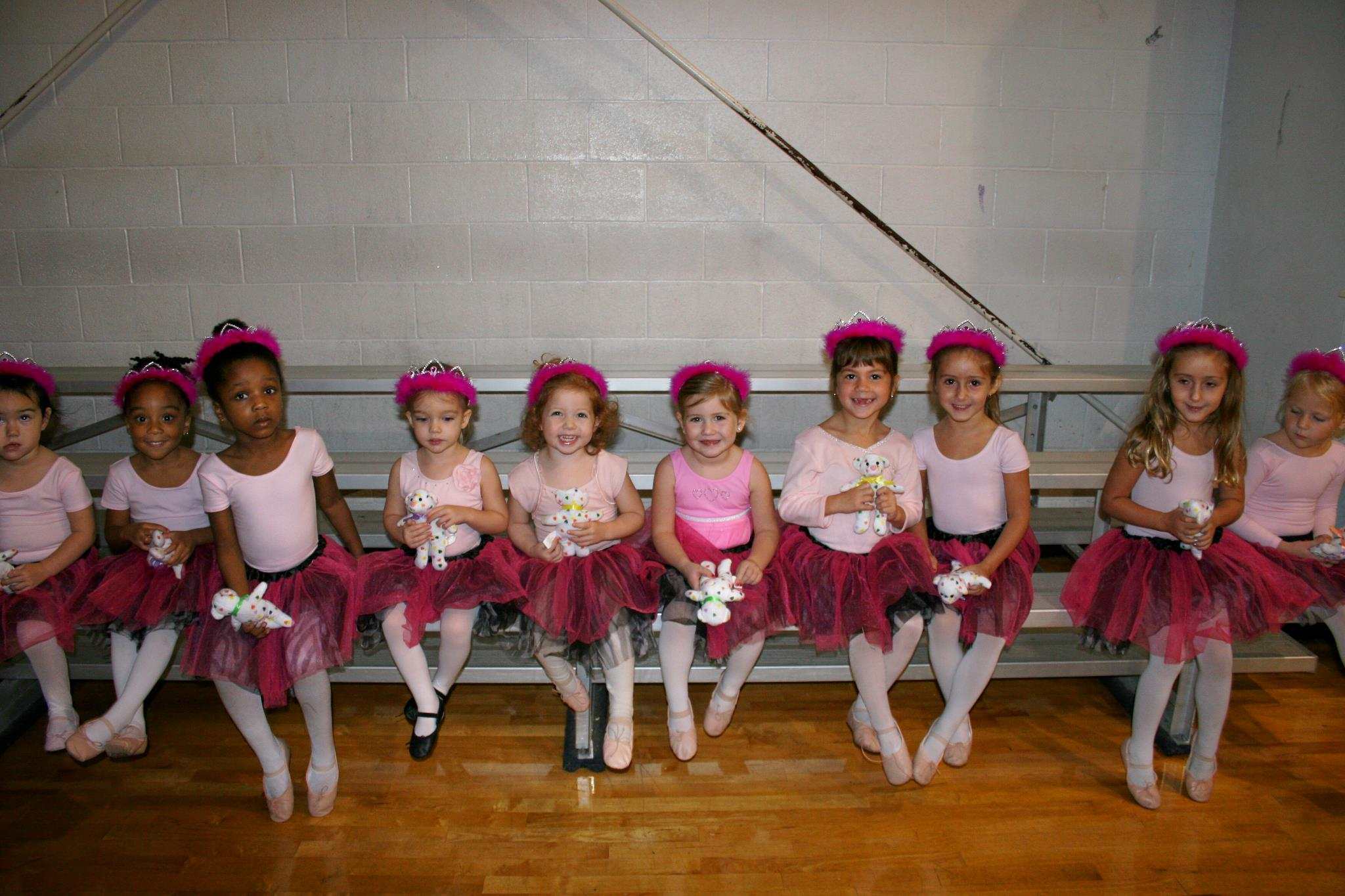 Dancers ready for recital