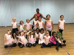 Ballet children dancers