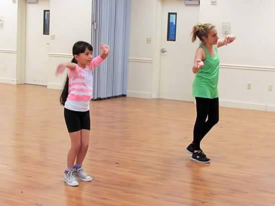 jazz dance practive