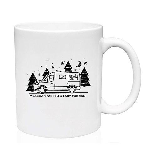 Lady The Van Coffee Mug