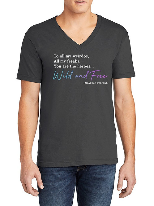 """""""Wild and Free"""" T-shirt Pre-order"""