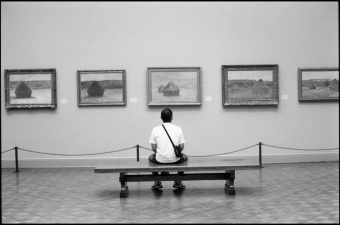 Waiting at Monet