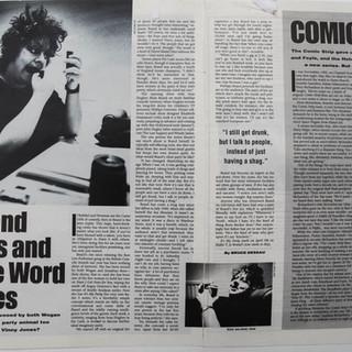 Jo Brand interview - Vox Magazine 1992