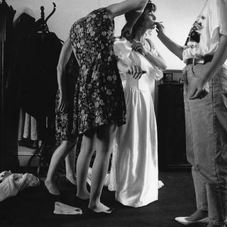 Kate & John's Wedding Day 1991 ©Gillian Allard