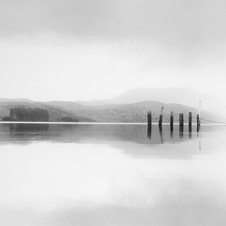 Loch Ewe - Scotland 2002 © Gillian Allard   Drum scan - HP5 medium format film  Available in the Print Shop as a framed or unframed fine art print.