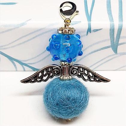 """""""Blue Angel"""" Schutzengel-Anhänger"""
