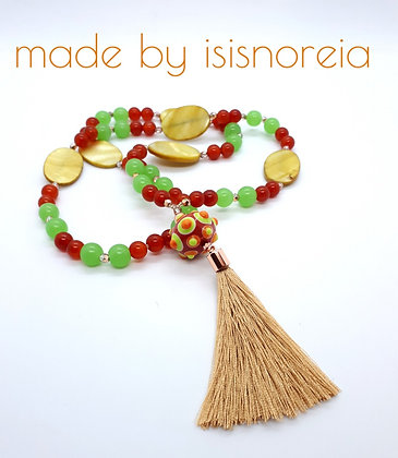"Boho-Necklace ""Sahara"""