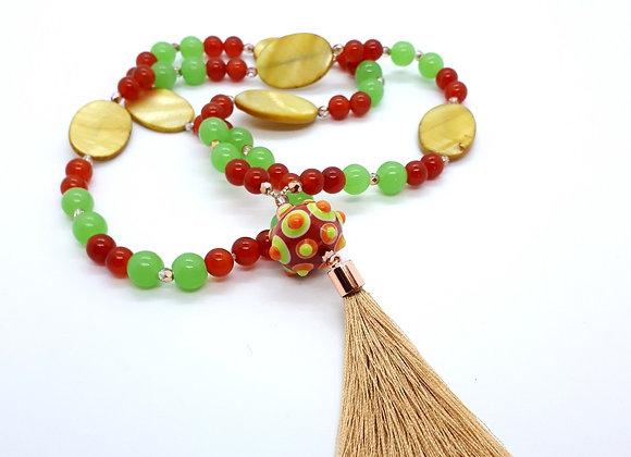 """Boho-Necklace """"Sahara"""""""