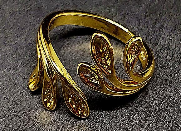 """Olea aurea"" Goldring Olivenzweig"
