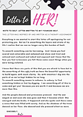 Black and White Welcome Letter to Parent