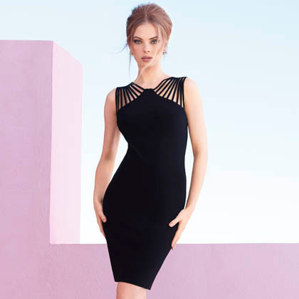 Joseph Ribkoff's Little Black Dress