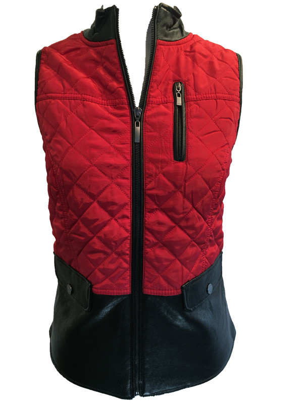 FDJ quilted vest