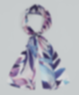 echo palm leaf silk. blue.png