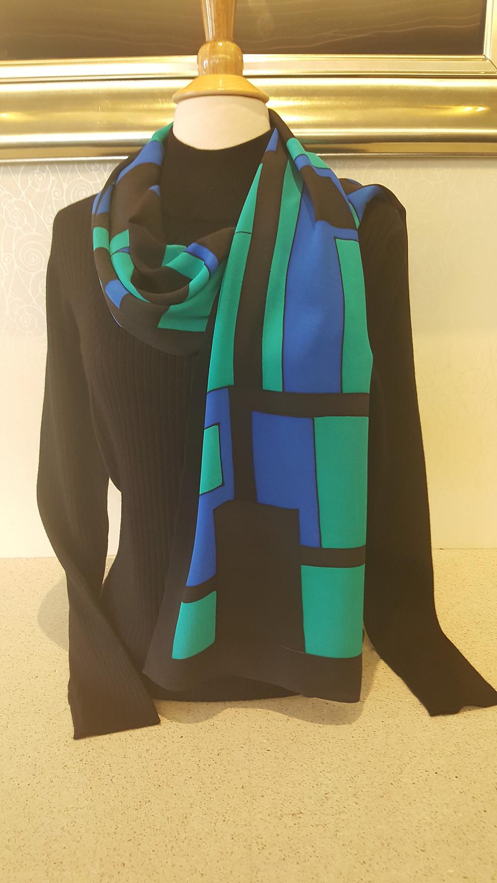 Kavita silk scarf