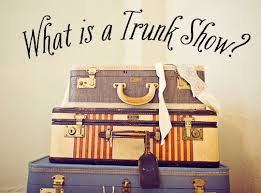 We Love Trunk Shows At Investment Pieces!