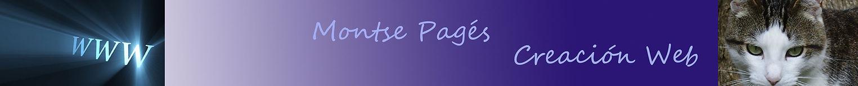 Montse Pagés, Diseño Web