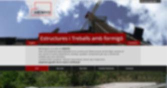 estruhenyo.com, web de la empresa Estruhenyo _ estructuras de hormigón