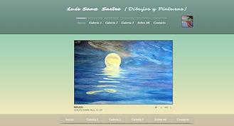 lssastre.com Web donde se muestran los dibujos y pinturas de Luís Sanz Sastre