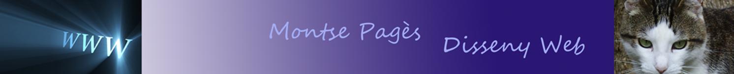 Montse Pagés, Disseny Web