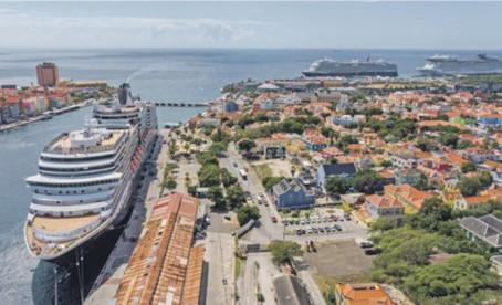 9.860 Cruisetoeristen in binnenstad Curacao