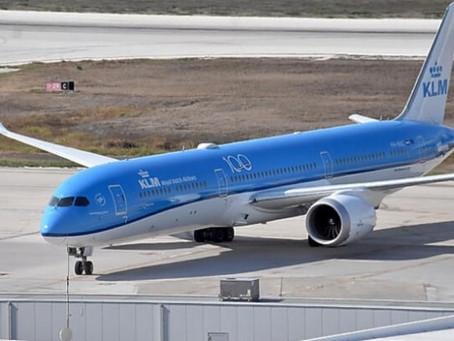 Eerste KLM Dreamlinerlandt op Hato