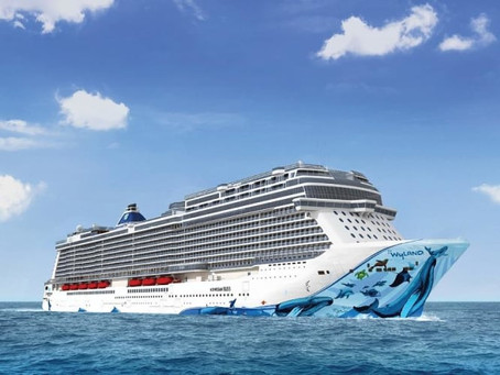 Drietal nieuwe cruiseschepen in Curacao