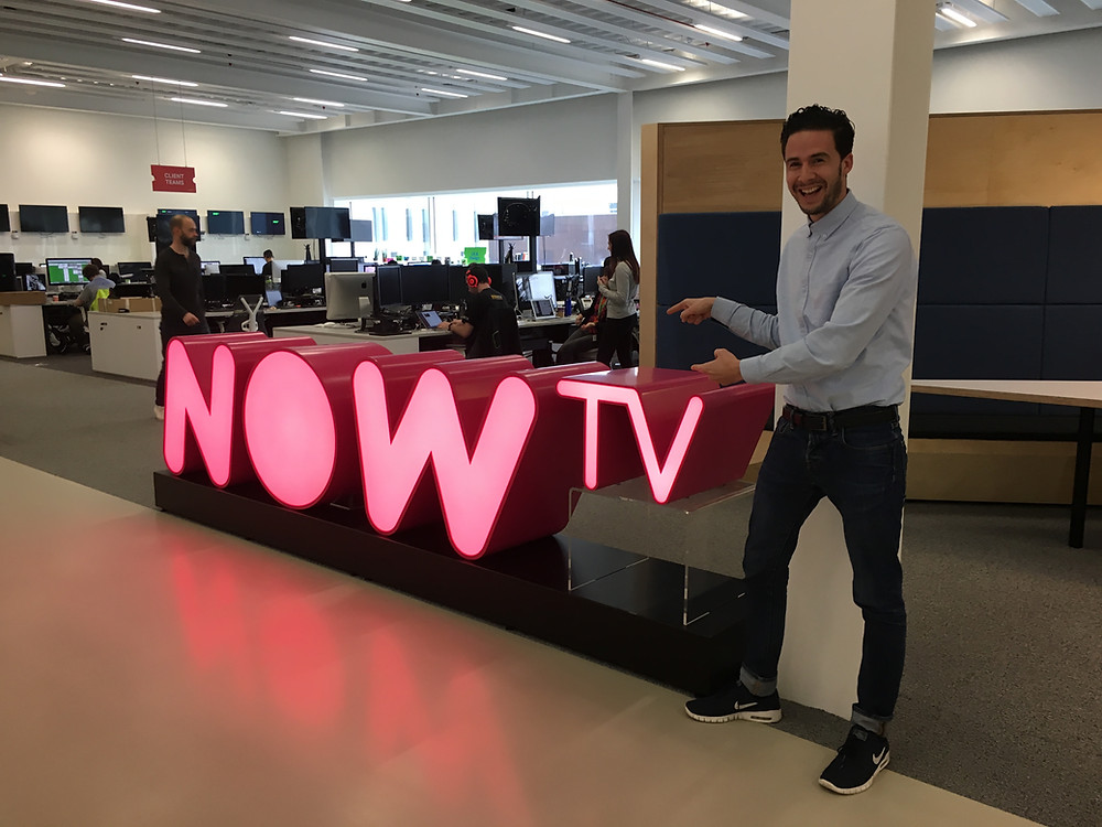 NOW TV office