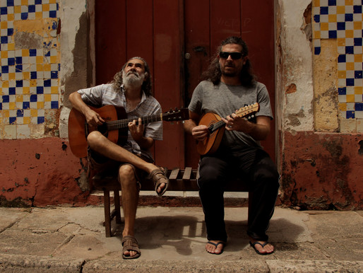 Show: Duo Moron participa do Quintal Cultural