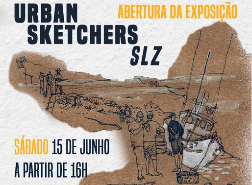 Abertura da exposição URBAN SKETCHERS SLZ acontece nesse sábado (15)