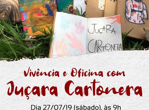 Coletivo Juçara Cartonera realizará oficina no Casa d'Arte Centro de Cultura neste sábado (27)