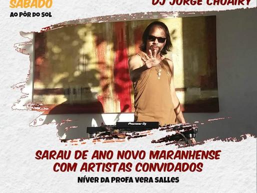 Sarau de Ano Novo Maranhense acontece no próximo sábado (06)