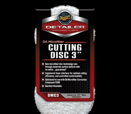 Meguiar's DA Microfibre Cutting Pads 3 Inch (Pack of two)