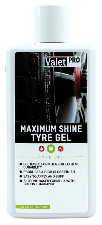 Valetpro Maximum Shine Tyre Gel (500ml)