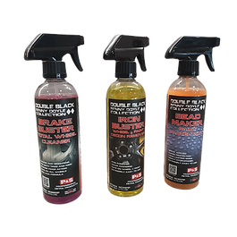 Three bottles of 16oz P&S Products, Brake Buster, Iron Buster, Bead Maker