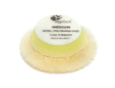 RUPES Medium Yellow Wool Polishing Pads (Various Sizes)