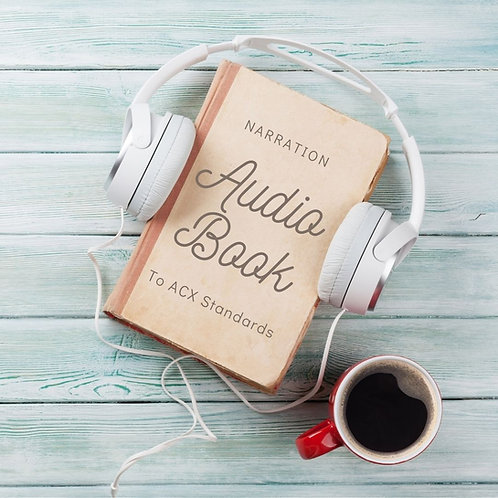 Audiobook Narration (Up to 5,000 words)
