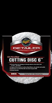 Meguiar's DA Microfibre Cutting Pads 6 Inch (Pack of two)
