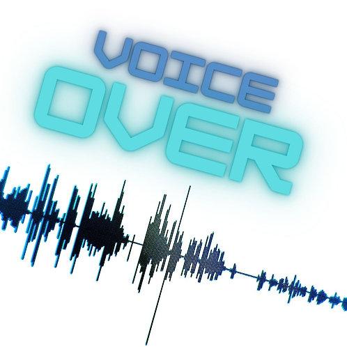 British Female Voice Over (500 words)