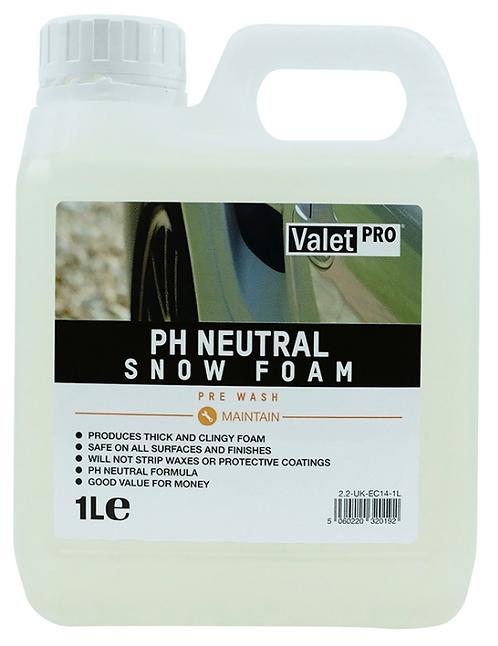 Valetpro PH Neutral Snow Foam 1 Litre