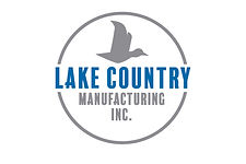Lake County logo with a bird flying and writing within a circle