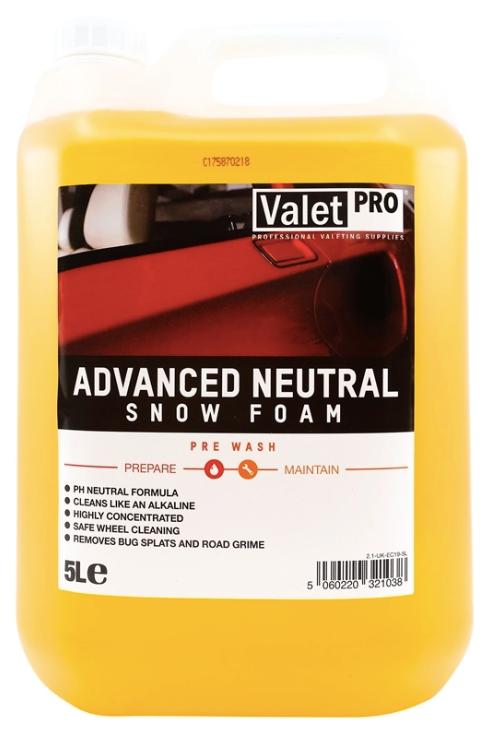 Valetpro Advanced Neutral Snow Foam 5 Litres