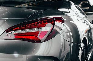 Car detailing : Glass coating Closeup mo