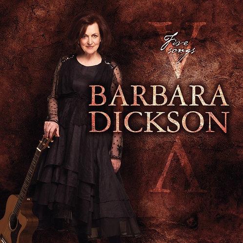 FIVE SONGS: CD (E.P) (Autographed)