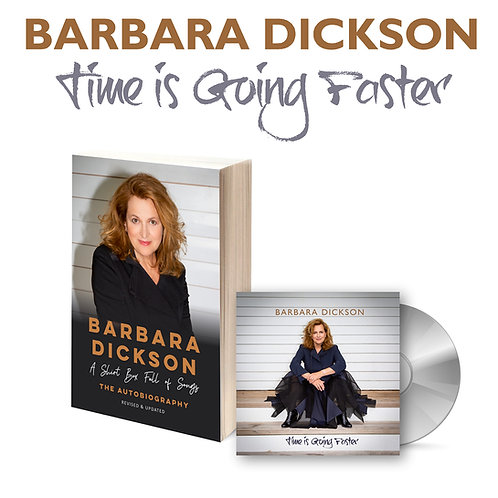 Signed Time Is Going Faster CD & New Autobiography Bundle