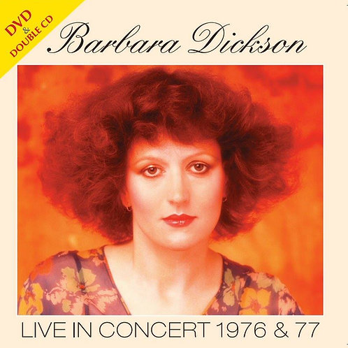 Barbara Dickson - Live In Concert 1976 & 77 DVD/CD
